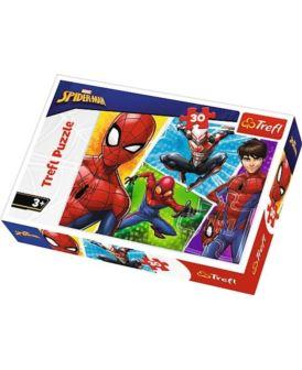TREFL PUZZLE 30 EL SPIDER-MAN I MIGUEL