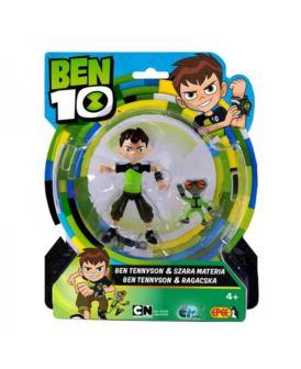 BEN 10 FIGURKA BEN TENNYSON 13 CM & SZARA MATERIA