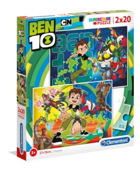 CLEMENTONI PUZZLE 2X20 EL. BEN 10