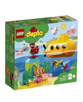 10910 LEGO DUPLO PRZYGODA W ŁODZI PODWODNEJ