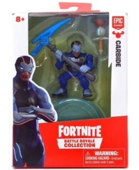 FORTNITE FIGURKA CARBIDE Z AKCESORIAMI