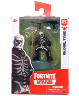 FORTNITE FIGURKA SKULL TROOPER Z AKCESORIAMI