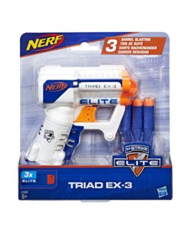 NERF N-STRIKE-ELITE  TRIAD EX-3