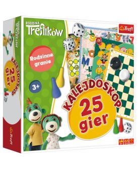 TREFL GRA RODZINA TREFLIKÓW KALEJDOSKOP 25 GIER
