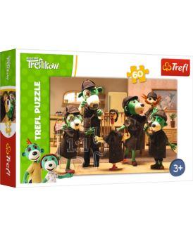 TREFL PUZZLE 60 EL NA TROPIE / TREFLIKI