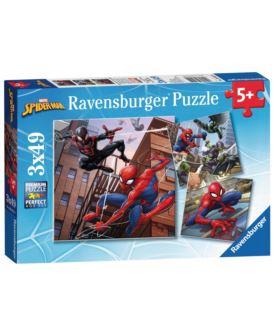 RAVENSBURGER PUZZLE 3X49 EL SPIDER MAN