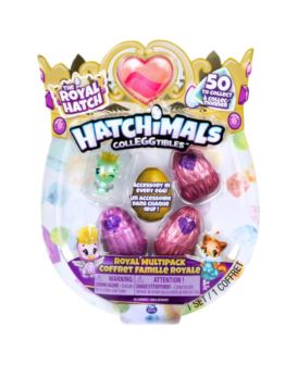HATCHIMALS THE ROYAL HATCH 4-PACK Z BONUSEM
