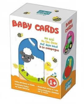 TREFL BABY CARDS NA WSI 01619