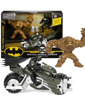 BATMAN 10 CM Z MOTOREM VS. CLAYFACE + AKSESORIA
