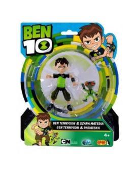 BEN 10 FIGURKA BEN TENNYSON 13 CM & GREY MATTER