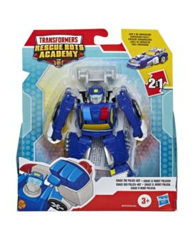 TRASFORMERS RESCUE BOTS CHASE THE POLICE-BOT