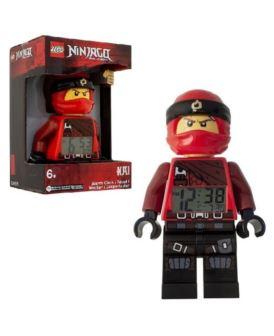 LEGO ZEGAREK NINJAGO LED BUDZIK