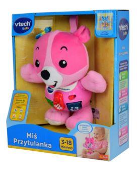 VTECH MIŚ PRZYTULANKA RÓŻOWY 61067