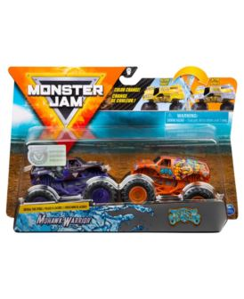 MONSTER JAM 1:64 MONHAWK WARRIOR VS JESTER