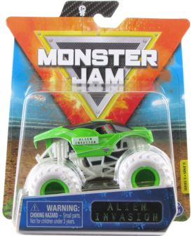 MONSTER JAM 1:64 ALIEN INVASION