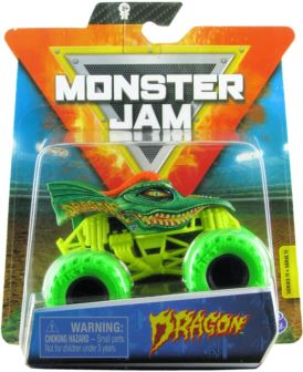 MONSTER JAM 1:64 DRAGON