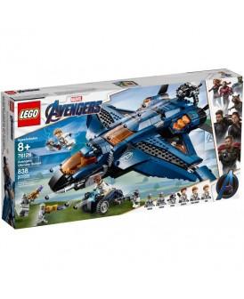 76126 LEGO SUPER HEROES QUINJET AVENGERSÓW