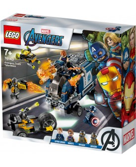 76143 LEGO AVENGERS ZATRZYMANIE CIĘŻARÓWKI