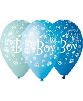 GEMAR BALONY PREMIUM IT'S A BOY 12 CALI 5 SZT