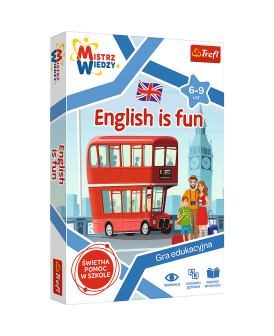 TREFL GRA MISTRZ WIEDZY GRA ENGLISH IS FUN