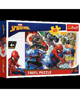TREFL PUZZLE 60 EL WALECZNY SPIDER-MAN