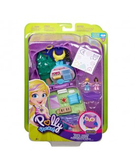 POLLY POCKET ZESTAW SOWI KEMPING