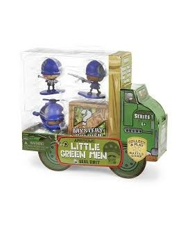 AWESOME LITTLE GREEN MEN SEAL NIT 4PCS