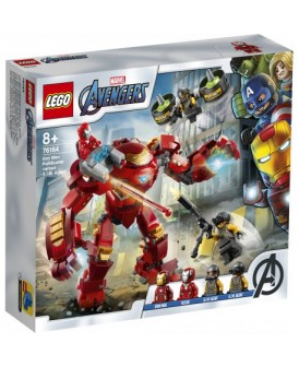 76164 LEGO HULKBUSTER IRON MANA KONTRA AGENCI AIM