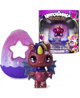 HATCHIMALS GLOW UP SHADOW NIGHTFALL UNIKEET