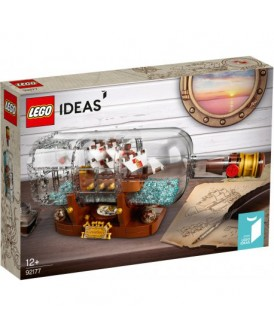 92177 LEGO IDEALS SHIP IN A BOTTLE