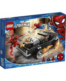 76173 LEGO HEROES SPIDER-MAN I JEŹDZIEC VS CARNAGE