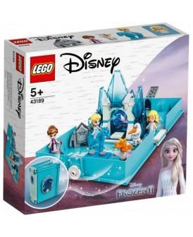 43189 LEGO DISNEY KSIĄŻKA Z PRZYGODAMI ELZY I NOKK