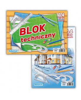 BLOK TECHNICZNY A4 STANDARD SCHEMAT 6240