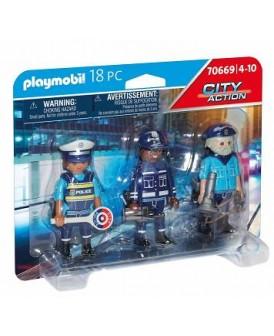 PLAYMOBIL 70669 POLICJA ZESTAW FIGUREK POLICJANCI