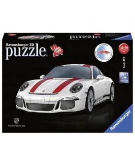 RAVENSBURGER PUZZLE 3D AUTO PORSCHE 911R 108 EL.