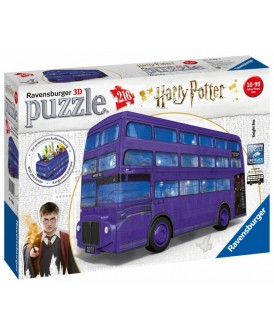 RAVENSBURGER PUZZLE 3D BUS HARRY POTTER 216 EL.