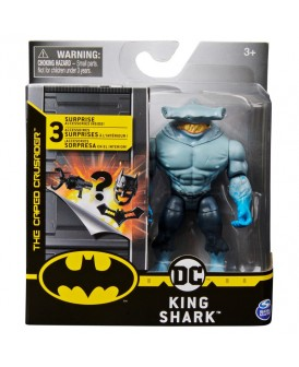 BATMAN FIGURKA DC KING SHARK + 3 AKCESORIA