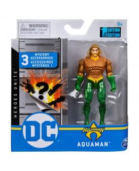 SUPERMAN FIGURKA DC AQUAMAN + 3 AKCESORIA