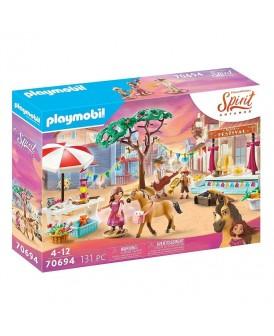 PLAYMOBIL 70694 SPIRIT FESTYWAL W MIRADERO