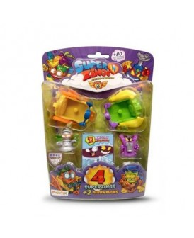 SUPER ZINGS SEZON 5 4 FIGURKI + 2 AREOWAGON MIX
