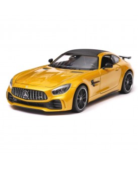 WELLY 1:24 MERCEDES AMG GT R ZŁOTY METALIC