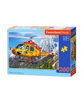 CASTORLAND PUZZLE 260 EL HELICOPRTER RESCUE