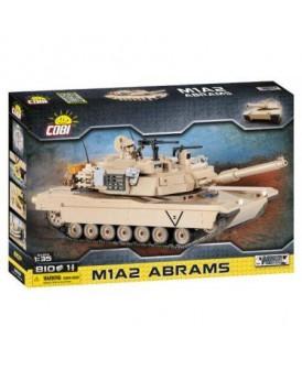 COBI ARMED CZOŁG AMERYKAŃSKI ABRAMS M1A2 810 KL.