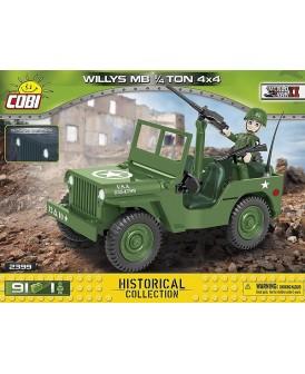 COBI HC WWII SAMOCHÓD WILLYS MB 1/4-TON 4X4 91 KL.