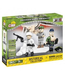 COBI HC WWII GERMAN ELITE INFANTRY 30 KL 3 FIGURKI