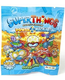 SUPERTHINGS SERIA 7 POWER MACHINES SZASZETKA 1 SZT