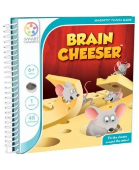 SMART GAMES GRA BRAIN CHEESER ENG/ POL INSTRUKCJA