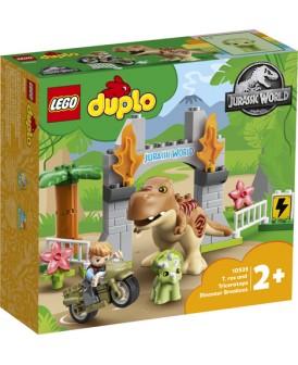 10939 LEGO DUPLO UCIECZKA TYRANOZAURA I TRICERATOP