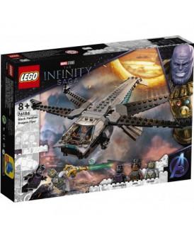 76186 LEGO MARVEL HELIKOPTER  CZARNEJ PANTERY
