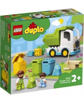 10945 LEGO DUPLO ŚMIECIARKA I RECYKLING